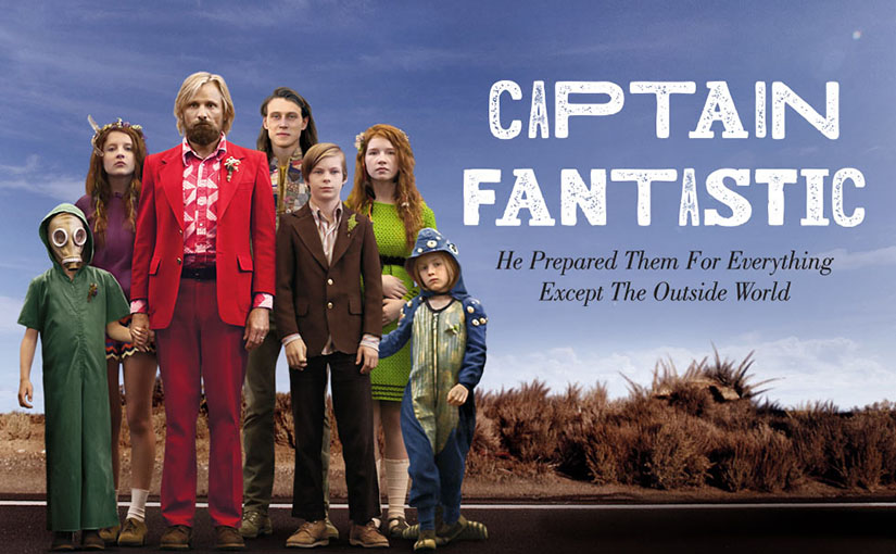 Captain Fantastic tells the story of Ben and Leslie, who have prepared their kids for anything but the outside world.